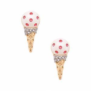 KATE SPADE • Ice Cream Cone Earrings